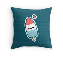 Kawaii Popsicle Throw Pillow