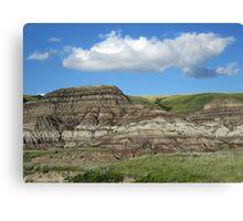 The Canadian Badlands Canvas Print
