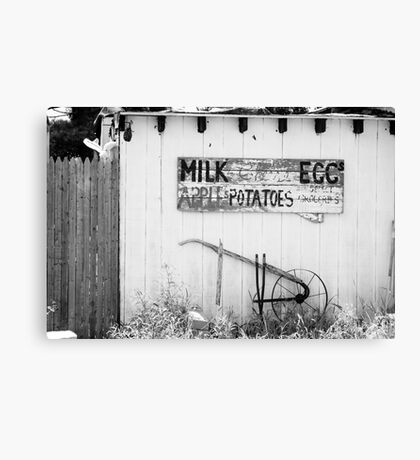 Farmer's Stand Canvas Print
