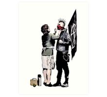 Banksy - Anarchist And Mother Art Print