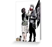 Banksy - Anarchist And Mother Greeting Card