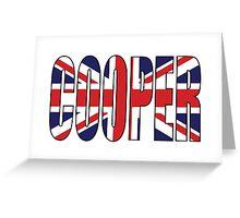 Cooper Greeting Card