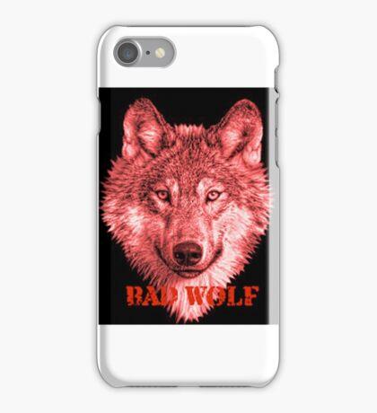 Bad Wolf Reg Photo, iPhone Case/Skin