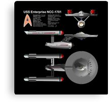 USS Enterprise Canvas Print