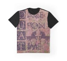 Once Upon a Time (OUAT) - Royal Magenta Evil Regal Unicorn Horse Equine Graphic T-Shirt