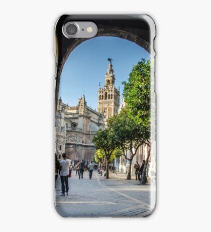 The Giralda and the blue sky  iPhone Case/Skin