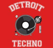 Detroit Techno Baby Tee