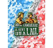 Mon Camarade Il Veut Du A L'ail Photographic Print