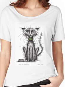 I love my smelly cat Women's Relaxed Fit T-Shirt