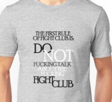 About the fight club Unisex T-Shirt