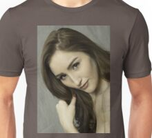 Gorgeous young beautiful woman   Unisex T-Shirt