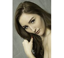 Gorgeous young beautiful woman   Photographic Print
