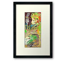 Let's Ride Framed Print