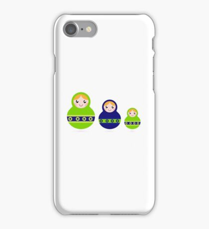 Russian traditional dolls DESIGNERS GIFT collection iPhone Case/Skin