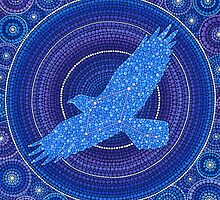 Aquila- the Eagle Constellation by Elspeth McLean