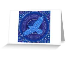Aquila- the Eagle Constellation Greeting Card