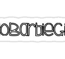 ·NoBarbieGirl Sticker