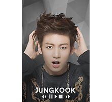 Jungkook~BTS Photographic Print