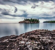 Sunrise on Split Rock Beach by SandraNightski