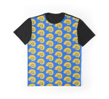 Biology Sea Shell Icon Graphic T-Shirt