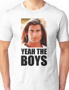 Yeah the boys - White Unisex T-Shirt