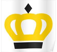 Queen Crown Icon Poster