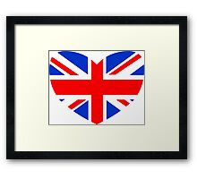 Love Britain Framed Print