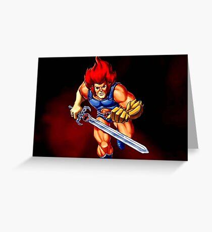 Thunder Lion Greeting Card