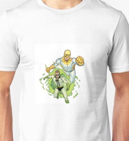 Bulletproof Kid and Wormhole Unisex T-Shirt