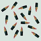 Scattered Lipsticks by Megan  Koth