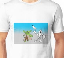 Yoda and Stormtrooper by Harry Unisex T-Shirt