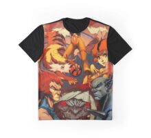 Fire Thundercats Graphic T-Shirt