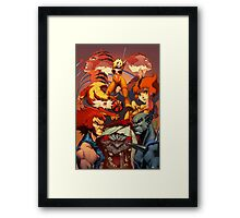 Fire Thundercats Framed Print