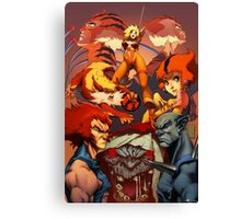 Fire Thundercats Canvas Print