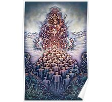 Psychedelic Art sacred geometry  Poster