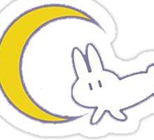 Sleeping Rabbit Sticker