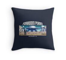 Forbidden Planet Altair IV Throw Pillow