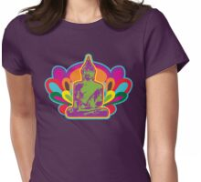 70s Buddha Womens Fitted T-Shirt
