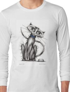 Silly cat Long Sleeve T-Shirt