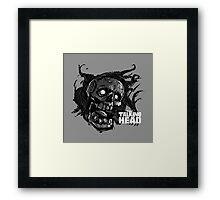 The Talking Dead Framed Print