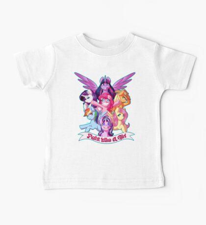 Fight Like a Girl!!!! Baby Tee