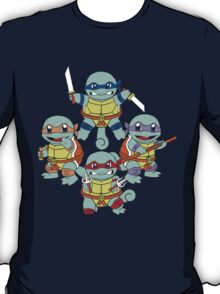 Teenage Mutant Ninja Squirtles  T-Shirt