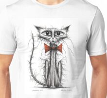 Skinny cat Unisex T-Shirt