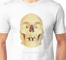 Crâne homme - homo sapiens Unisex T-Shirt