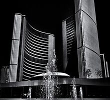 Toronto City Hall No 7 by Brian Carson