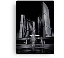 Toronto City Hall No 7 Canvas Print
