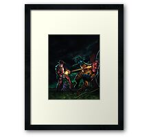 Tales To Admonish Vol 1 Cover Framed Print