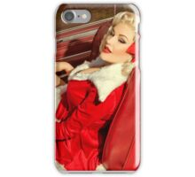 Santa Woman iPhone Case/Skin