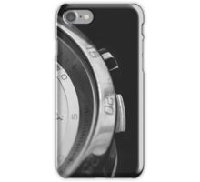 Man watches  iPhone Case/Skin