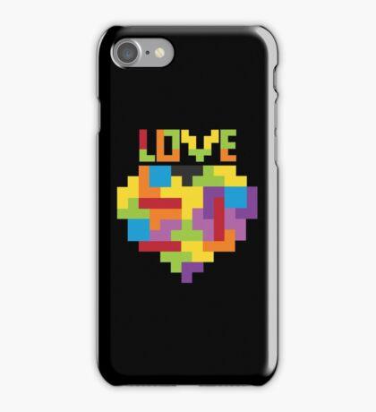 Love Tetris  iPhone Case/Skin